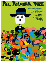 Por primera vez Cuban vintage Film POSTER.Graphic Design.Art Decoration.... - $10.89+