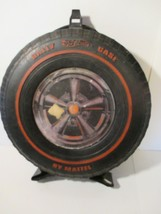 Vintage 1967 Hot Wheels Rally Car Case Tire Mattel - $25.73