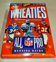 Vintage 1996 Wheaties NFL All-Pro Running Backs Cereal Box Barry Sanders... - $18.48