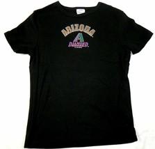 Medium Junior Women's Arizona Diamondbacks Shirt Baseball Tee D'Backs