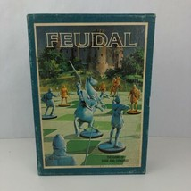 Feudal Bookshelf Board Game 3M 1969 Siege and Conquest Boardgame Complet... - $19.79