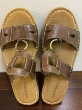 Naturalizer Natural Soul Dalbert Sandals Women's Size 8 Med Brown - $11.87