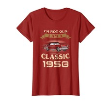 Dad Shirts - I'm Not Old Im a Classic 1958 60th Funny Birthday Shirt Gif... - $19.95+