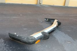 *NO SHIPPING* Mercedes W107 R107 Front Chrome Bumper W/ Shocks 450SL 350SL 560SL image 4