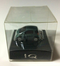 TOYOTA iQ Light Keychain Green metalli PullBack Mini Car Not Sold in store Japan - $25.90