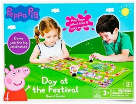 NEW SEALED 2019 TCG Toys Peppa Pig Day at the Festival Board Game  - $18.49