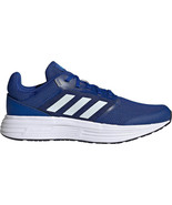 adidas Men's Cloudfoam Galaxy 5 Running Shoes in Sizes 6.5 to 15 in Blue   - $79.99