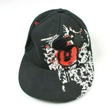 Disney Parks Hat Mickey Mouse Mad Skater Graffiti Hip Hop Fitted Size Youth - $10.32