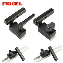 Aluminium Miter Track Stop for T Slot T Tracks Woodworking DIY Wood Work... - $13.50