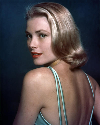 Grace kelly poster 24x36 in green straps