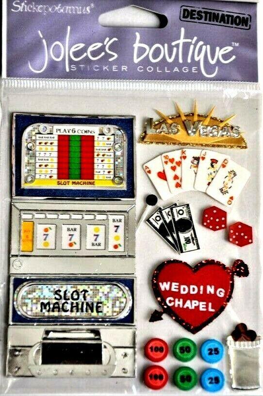 Jolee's Boutique Las Vegas Dimensional Sticker Set #SPJE006