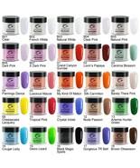 Dip Powder 1oz/28g French Nail Color Glitter No UV Lamp Cure Manicure Na... - $7.46