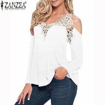 Women's Blouses, Shirts elegant Lace V-neck Sleeve - $22.99+
