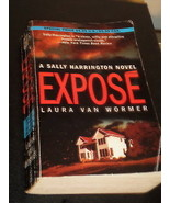 EXPOSE - murder thriller by Laura Van Wormer - a  NY Times Notable Book - $3.95