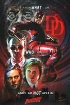 Jon Pinto SIGNED Art Print Marvel Comics / Netflix ~ Daredevil Charlie Cox - $34.64