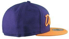Dissizit New Era Fitted 59Fifty NY Hat Navy Orange new York City image 3