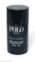 Ralph Lauren Polo Black Alcohol Free Deodorant Stick 2.6oz 75g * Low Shi... - $18.99