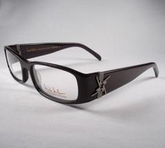 Nicole Miller Provencial Autumn Brown women Eyeglass Frame EYEWEAR Designer New - $58.41