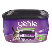 Litter Genie Standard Refill Cartridge for Cat Litter Disposal System, P... - $14.05