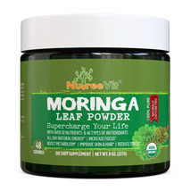 Nutreevit 100% Organic Boost Metabolism-Moringa Powder - 237ml - $16.79+