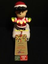 Hallmark 2015 Lucy Peanuts Gang Christmas Light Show Wireless - $89.99