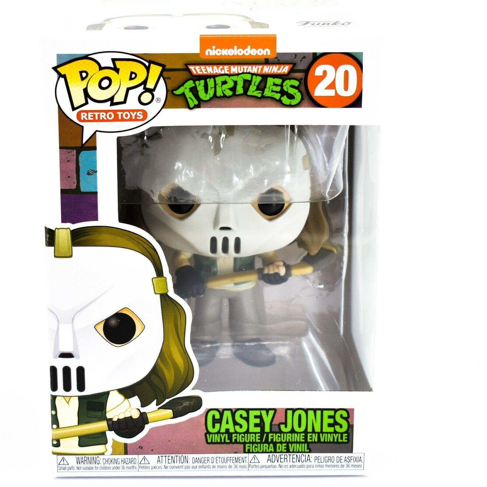 Funko Pop! Retro Toys Teenage Mutant Ninja Turtles TMNT Casey Jones #20 Figure