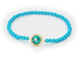 Turquoise Evil Eye Bracelet - $32.00