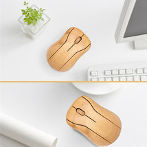 Creative Bamboo Mouse 2.4G Wireless Optical 3 Adjustable DPI Mouse USB R... - $17.99