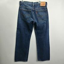 Levis 569 Mens Jeans Size 33x32 Measures 33x31 Loose Straight Mid Rise D... - $28.01