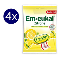 4x Dr. Soldman Em-eukal cough drops Zitrone (75g) – Ships frpm Germany - $22.00