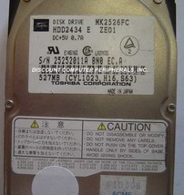 527MB 2.5in 19MM IDE Drive Toshiba MK2526FC HDD2434 Tested Good Free USA Ship