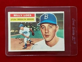 1956 Topps Set Break #270 - Billy Loes EX-EXMINT (gray back) - $9.50