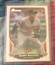 2013 Bowman Manny Machado Baltimore Orioles #215 Baseball Card - $3.20
