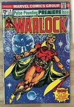 WARLOCK #9 (1975) Marvel Comics FINE- - $24.74