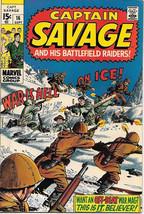 Capt. Savage and His Leatherneck Raiders Comic Book #16, Marvel 1969 FINE+ - $11.64