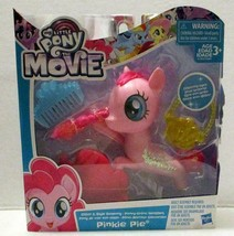 Hasbro My Little Pony The Movie Pinkie Pie Glitter And Style Seapony Toy Figure - $8.99