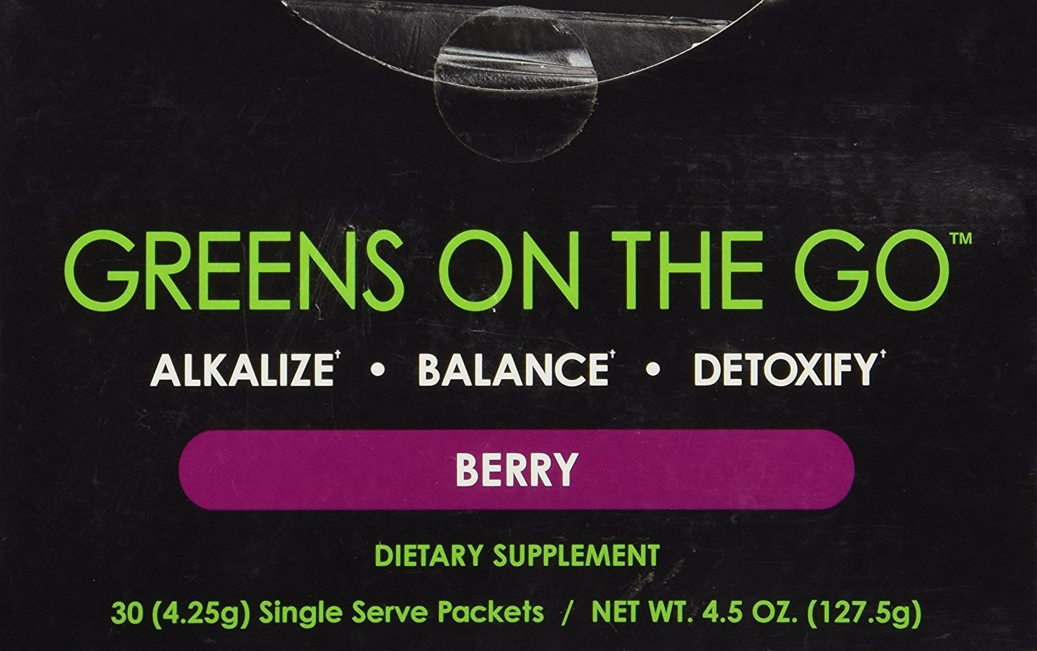 IT WORKS GREENS ON THE GO  30 PACKETS - 1 MONTH SUPPLY - $45.00