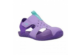 Nike Sunray Protect 2 Kid's Youth Purple Teal Water Sandals 943826 500 - $17.99