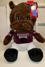 "19"" plush bulldog Mississippi State University - $21.46"