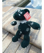 Gund Plush Teddy Bear Bears Snowflake Number 8735 Retired - $10.00