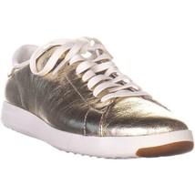 Cole Haan GrandPro Tennis Lace Oxford Fashion Sneakers, Platino Glitter,... - $59.51