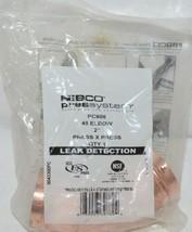 Nibco Press System 45 Degree Elbow 2 Inch Press X Press 9043300PC image 1