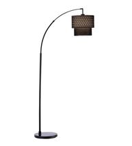 Adesso 3029-01 Gala Floor Lamps Matte Black 1-light - $130.00