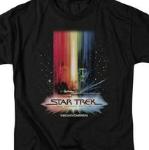 Star Trek The Motion Picture retro 70's science fiction graphic t-shirt CBS486 image 3