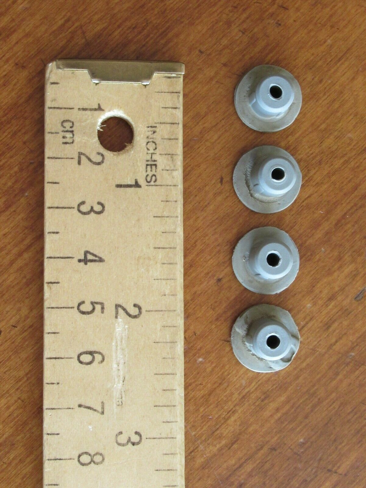 Krups Espresso/Coffee XP1600 Replacement Part: Lot of 4 Rubber Feet Non Skid  - $8.49