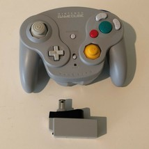 Nintendo Game Cube Wireless Wavebird Controller With Receiver Grey OEM T... - $55.15