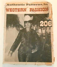 Ladies Authentic Patterns Western Fashion 206 s... - $9.50