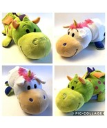 "Flip A Zoo Imogen Dragon & Persephone Unicorn 2 in 1 Two Side Plush 22"" ... - $20.75"