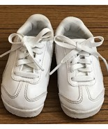 Puma Kinder Fit White Leather Toddler Sneakers Boy/Girls Size 3 - $14.90