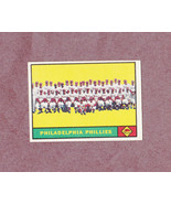 1961 Topps # 491 Philadelphia Phillies Team Card Nice Card - $4.99